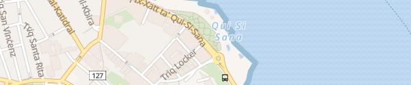 Karte innogy Ladesäule Sliema