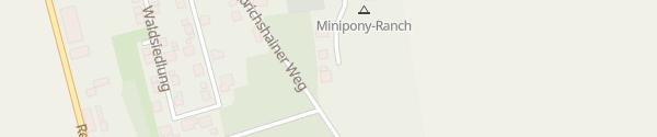 Karte Stellplatz Minipony-Ranch Felixsee