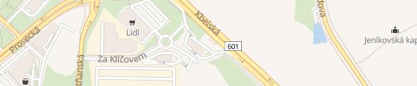 Karte MOL Kbelská Praha-Vysočany