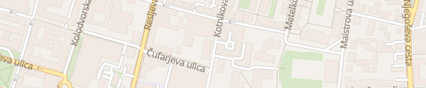 Karte Kotnikova 9 Ljubljana