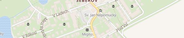 Karte K Hrnčířům Praha-Šeberov