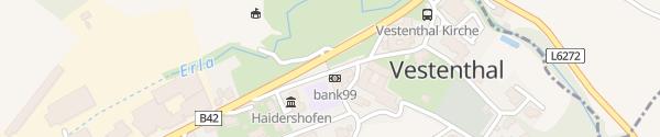Karte Gemeindeamt Haidershofen