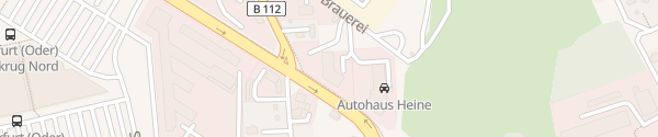 Karte K&S Oder/Spree Auto Frankfurt/Oder
