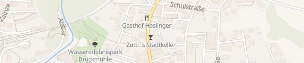 Karte Planungsbüro Schaufler Pregarten