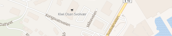 Karte Kiwi Osan Svolvaer