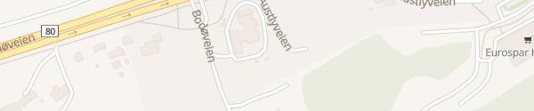 Karte Circle K Hunstad Bodø