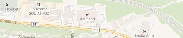 Karte Kaufland Prag 14