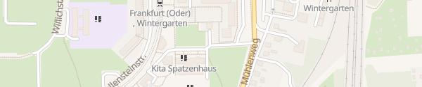 Karte Martin-Opitz-Straße Frankfurt (Oder)