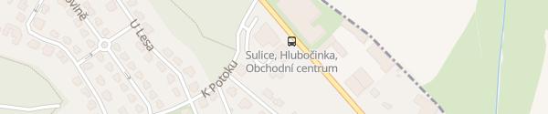 Karte Zas a Znova Sulice-Hlubočinka