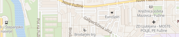 Karte Mercator Ljubljana