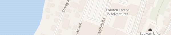 Karte AMFI Shoppingcenter Svolvær