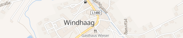 Karte E-Bike Ladesäule Kirchenplatz Windhaag bei Freistadt