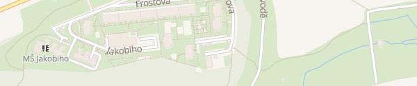 Karte Kurčatovova Petrovice