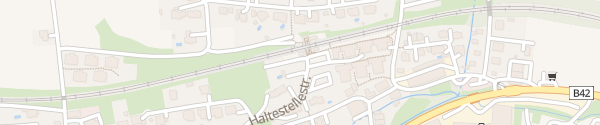 Karte Bahnhof Haag