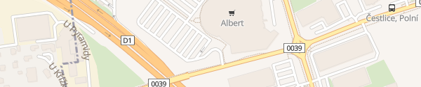 Karte Albert Hypermarket Čestlice