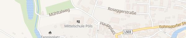 Karte Volksschule Pöls