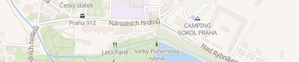 Karte Počernický Pivovar Praha