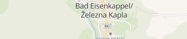 Karte IAM - Bei der Kirche Bad Eisenkappel