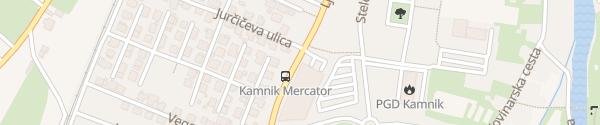 Karte Kamnik Ljubljanska Kamnik