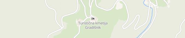 Karte Turist farm Gradišnik Solčava