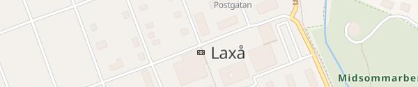 Karte Zentrum Laxå