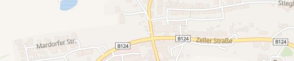 Karte E-Bike-Station Pendlerparkplatz Tragwein