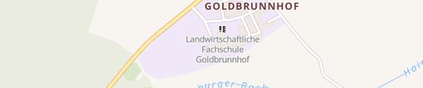 Karte Landwirtschaftliche Fachschule Goldbrunnhof Völkermarkt