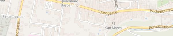 Karte Riedergasse Judenburg