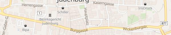 Karte Hauptplatz Judenburg
