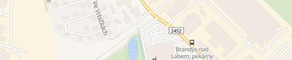 Karte Kaufland Brandýs nad Labem