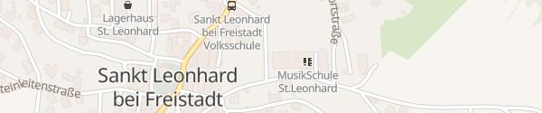 Karte Neue Mittelschule Sankt Leonhard bei Freistadt