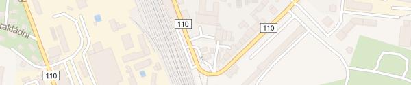 Karte OMV Nádražní Benešov