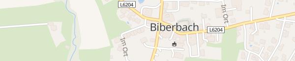 Karte Gemeindeamt Biberbach