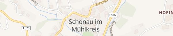 Karte Treff 16 Schönau im Mühlkreis