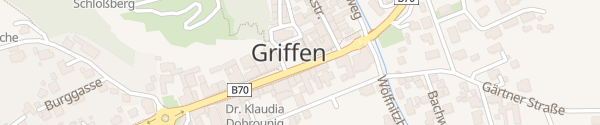 Karte Kirchplatz Griffen