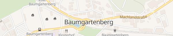 Karte Gemeindeamt Baumgartenberg