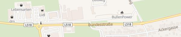 Karte Sportzentrum Aichfeld Zeltweg