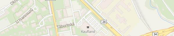 Karte Kaufland Třeboň