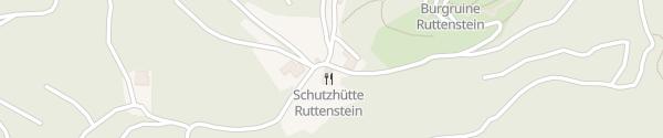 Karte Schutzhütte Ruttenstein Niederhofstetten