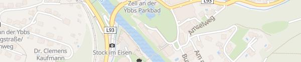 Karte Schloss an der Eisenstraße Waidhofen an der Ybbs