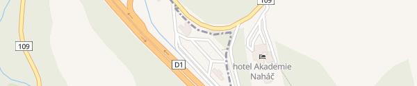 Karte Motorrest Naháč Chocerady