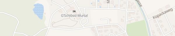 Karte Hotel G'Schlössl Murtal Großlobming
