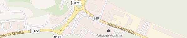 Karte Autohaus Senker Amstetten-Neufurth
