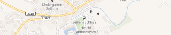 Karte Schloss Hotel Zeillern