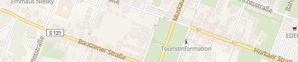 Karte Zinzendorfplatz Niesky