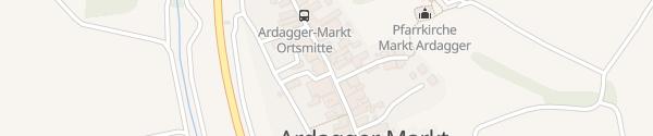 Karte Gemeindeamt Ardagger Markt