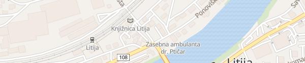 Karte Ponoviška Litija