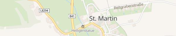 Karte Bauhof St. Martin