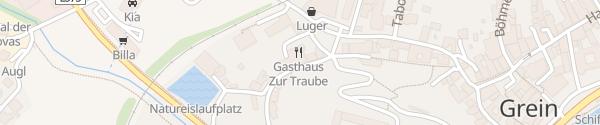 Karte Gasthof zur Traube Greinburg