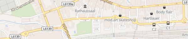 Karte Parkplatz Graben Amstetten